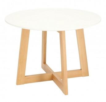 Skandynawski stolik kawowy z okrągłym blatem Kelly