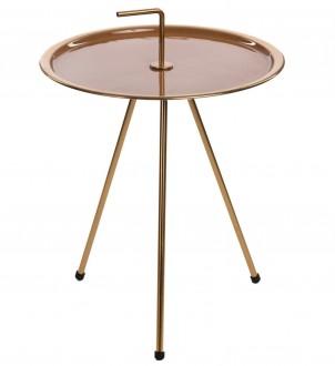 Złoty stolik z uchwytem Meliza