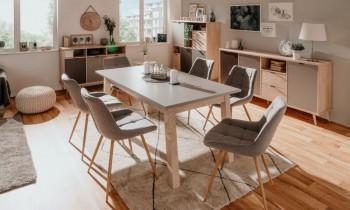 Skandynawski stół z rozkładanym blatem Epik