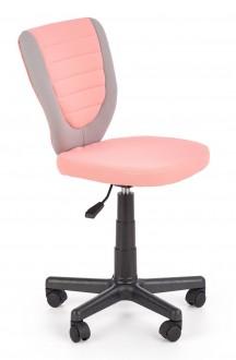 Tapicerowane krzesło obrotowe na kółkach Toby