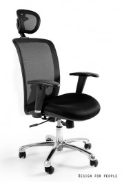 Ergonomiczny fotel biurowy Expander czarny