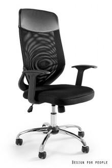 Krzesło biurowe Mobi Plus czarne