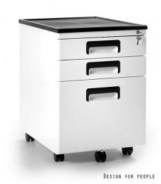 Kontener pod biurko biały 324-W