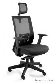 Krzesło obrotowe z zagłówkiem Nez