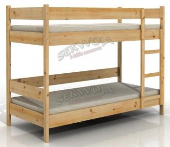 Łóżko sosnowe piętrowe Robin II