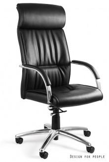 Fotel gabinetowy skórzany Brando