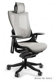 Fotel ergonomiczny Wau 2 czarno - szary