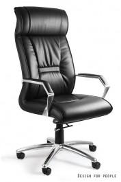 Fotel biurowy skórzany Celio