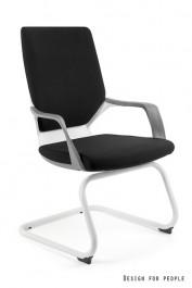 Nowoczesny fotel na płozach Apollo Skid