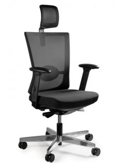 Nowoczesne krzesło biurowe Forte czarne