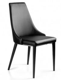 Krzesło Setina tapicerowane eko skórą