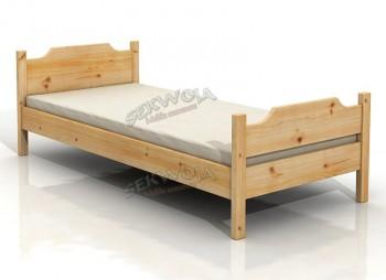 Łóżko z litego drewna Sekwoja
