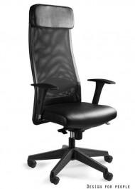 Krzesło biurowe Ares Soft z wysokim oparciem