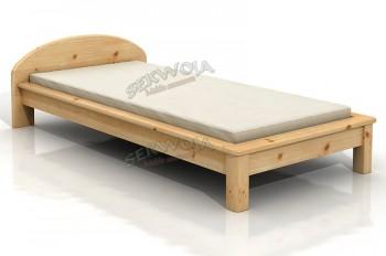 Łóżko sosnowe Laguna