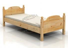 Łóżko sosnowe Retro
