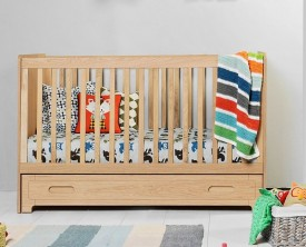 Łóżeczko dla dziecka z funkcją sofy Sherwood