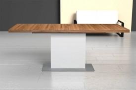 Stół Evita B z blatem w okleinie naturalnej