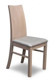 Krzesło z litego drewna Fortis