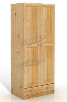 Szafa z litego drewna Nova 2D/1
