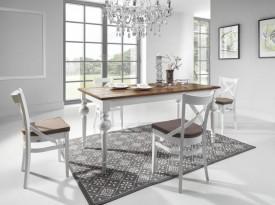 Stół z dębowym blatem Flavo