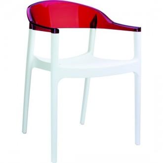 Krzesło Carmen White