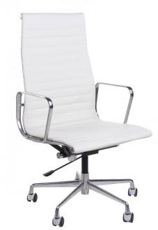 Fotel biurowy CH1191T skóra, chrom