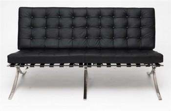 Sofa dwuosobowa BA2 insp. Barcelona skóra naturalna