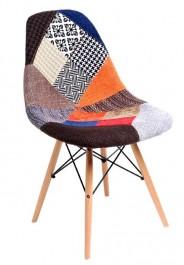Krzesło P016W insp. DSW patchwork