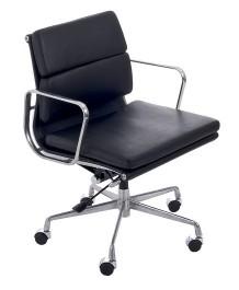 Fotel biurowy CH2171T skóra chrom