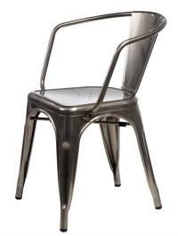 Krzesło Paris Arms insp. Tolix