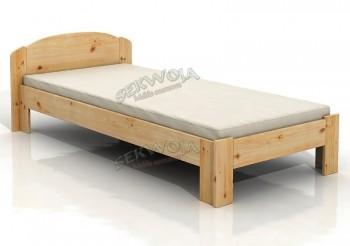Łóżko sosnowe Zefir