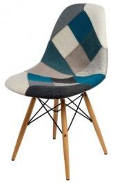 Krzesło P016W insp. DSW N-SZ patchwork