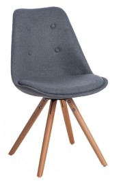 Krzesło pikowane z poduszką Norden Star