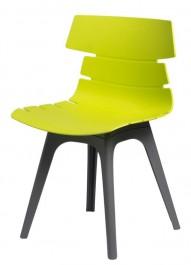 Nowoczesne krzesło Techno z szarą podstawą