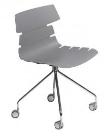 Nowoczesne krzesło na kółkach Techno Roll