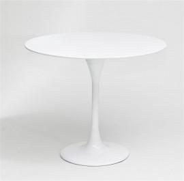 Okrągły stolik na jednej nodze Fiber insp. Tulip