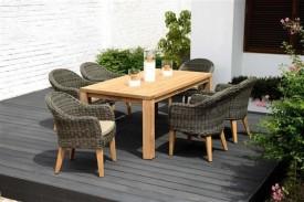 Stół ogrodowy prostokątny Rinjani
