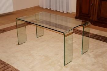 Stolik ze szkła giętego Amadeo