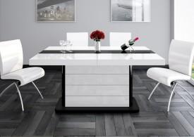 Rozkładany stół w wysokim połysku Pianosa 2