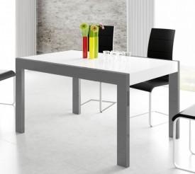 Dwukolorowy rozkładany stół Imperia 140