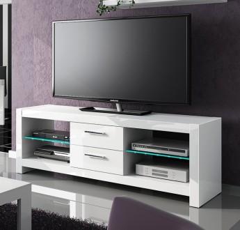 Nowoczesna szafka RTV Andora z oświetleniem LED