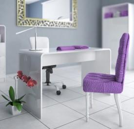 Biurko Manicure White&White do gabinetów kosmetycznych