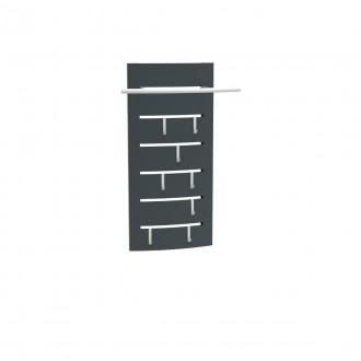 Wieszak naścienny krótki metalowy HW 1