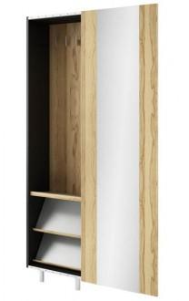 Szafa z przesuwanymi drzwiami i lustrem GSTSP 25GB