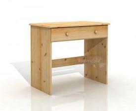 Biurko z litego drewna Ola 1S