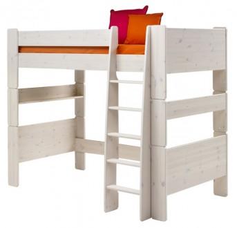 Łóżko na antresoli wysokie 90/200 Nelly