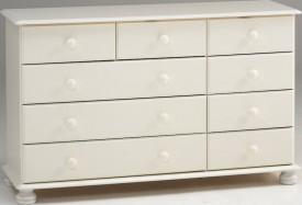 Komoda 2+3+4 szuflady Richmond kolor biały