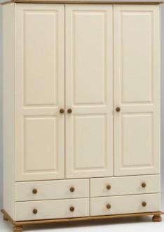 Szafa 3-drzwiowa Richmond kolor kremowy