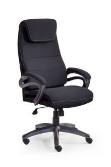 Czarny fotel biurowy Sidney