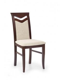 Drewniane krzesło Citrone ciemny orzech